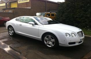 bentley wedding car norwich