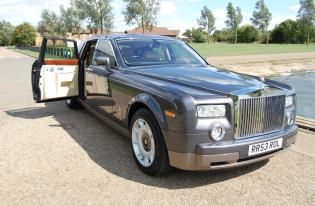 rolls royce phantom executive car hire norwich